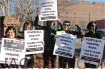 Durham, NC against US involvement in Ukraine