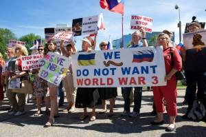 Toronto against Ukrainian fascism
