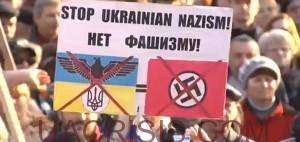 Stop Ukrainian fascism by coup imposed government in Kiev