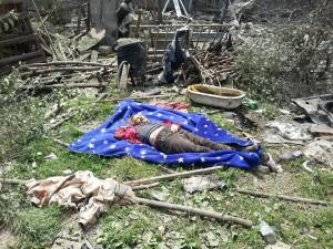 Civilian resident in Kondrashevka killed by Ukrainian military