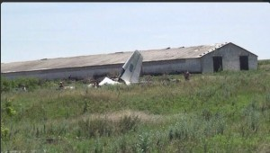 Ukrainian plane downed by self-defense forces