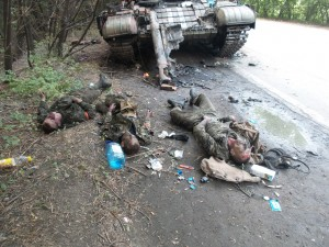 Ukrainian army killing civilians