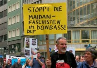 Frankfurt against Nazis in Ukraine