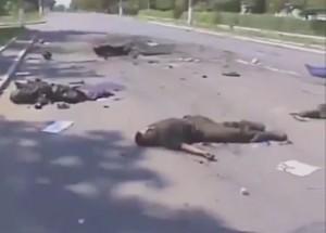 Ukrainian soldiers raided houses