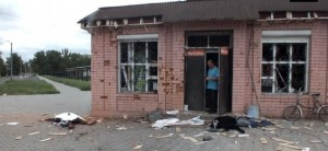 Civilians killed by Ukrainian army in Makeevka