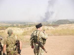 Cossacks against Ukrainian army