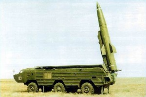 SS-21 Scarab ballistic missile