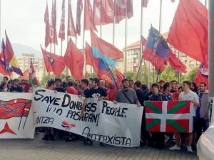 Spain against Ukrainian fascism