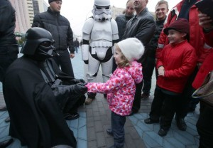 Darth Vader in Ukrainian elections
