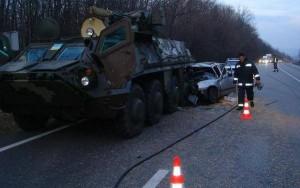 girl killed by Ukrainian army in a crash