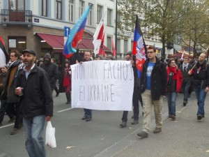 Brussels against Ukrainian fascism