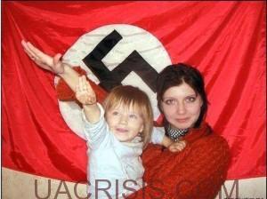 Rezinchenko's wife and daughter