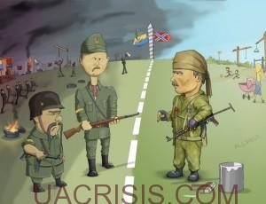 Ukrainian civil war