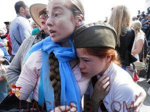 little girl attacked by ukrainian nazis