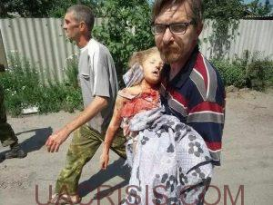 children killed by ukrainian army